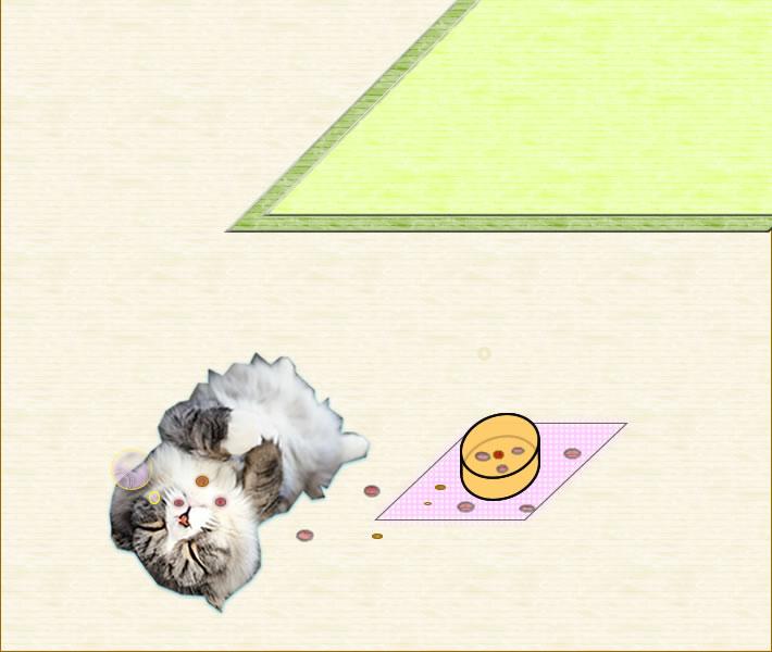 manpuku of cat collage