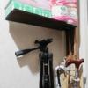 ラブリコ2バイ4アジャスターで玄関デッドスペースにDIYで棚作りました。